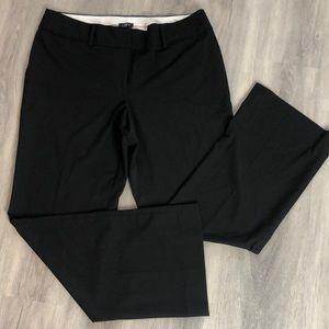 LOFT Black dress women's pants size:12